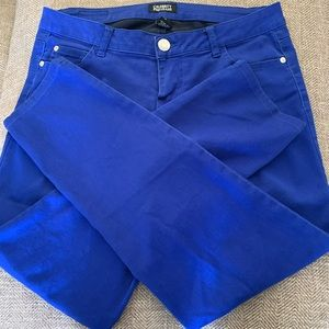 EUC  Celebrity Pink Jeans - size 7 - royal blue